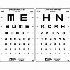 Visual Acuity Picture Chart Pba Texas Visual Acuity Charts 10 Quot X 20 Quot