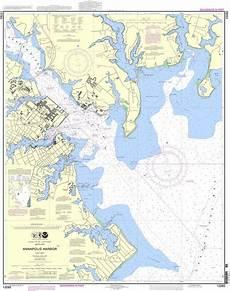 Noaa Chart 13205 Noaa Chart 12283 Annapolis Harbor