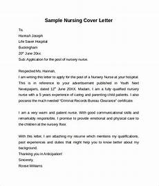 nursery nurse cover letters free 10 nursing cover letter templates in pdf ms word