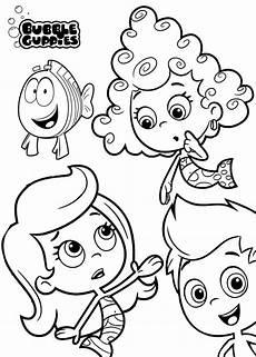 Coloring Pages Bubbles Bubble Guppies Coloring Pages Best Coloring Pages For Kids