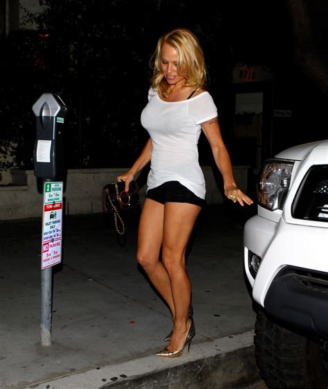 Pam Anderson And Sexy Man