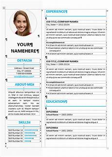 Word Format For Resume Ikebukuro Elegant Resume Template