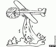 ausmalbilder feuerwehr flugzeug kinder zeichnen und ausmalen