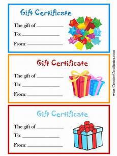 Gift Certificate Ideas For Christmas Free Gift Certificates Clip Art Cliparts