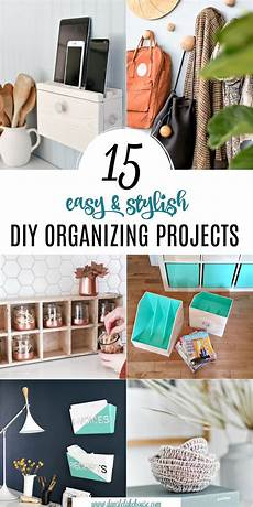 15 stylish diy projects for organizing your home dans le