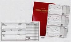 Car Service Record Book Used Car Record Book Police Book Dealerstockroom Shop