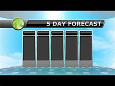 5 Day Weather Chart 5 Day Forecast September 8 2016 Youtube