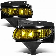Amber Driving Lights Fit 99 04 Ford Mustang New Edge Gt Amber Lens Oe Bumper