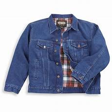 Jean Jacket Denim Guide Guide Gear Flannel Lined Denim Jacket 67314 Insulated