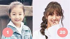 jihyo childhood from 1 to 20 years