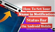 Border Light Notification How To Set Your Name In Notification Status Bar On Android