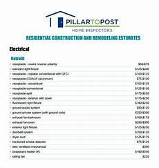 Contractor Quote Form 7 Contractor Estimate Templates Pdf Doc Free
