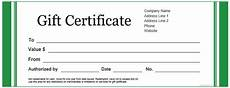 Ms Word Gift Certificate Template Certificate Templates Download Amp Free Certificate