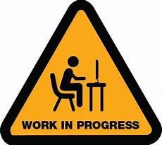 Training In Progress Sign Work In Progress Wip Lean Six Sigma Training Guide Copy