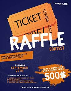 Raffle Ticket Poster Ideas 5 Ways To Market Your Raffle With Minimal Costs Design