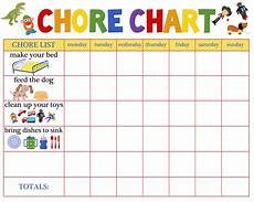 5 Year Old Chore Chart Printable 5 Year Old Reward Chart Free Chore Chart For Toddlers