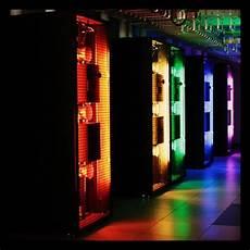 Data Center Hvac Design Custom Data Center In Row Units With Special Lighting