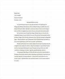 Essay Intro Format Free 6 Self Introduction Essay Examples Amp Samples In Pdf