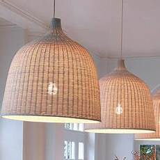 Ikea Woven Pendant Light Ikea Leran Pendant Lamp Rattan Lighting Pinterest