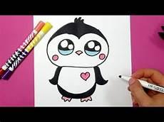 kawaii pinguin selber malen kawaii zeichnungen