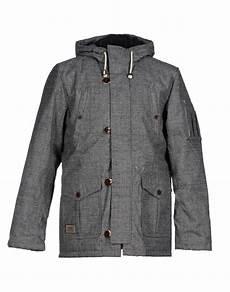 coats vans lyst vans jacket in gray for