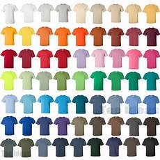 Gildan Shirt Color Chart Gildan Mens Ultra Cotton T Shirt 100 Cotton Tee S M L