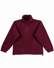 Design Your Own Half Zip Half Zip Polar Fleece Pullover Pf01