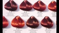 Reed Hair Color Chart Different Shades Of Red Hair Color Chart Red Hair Color