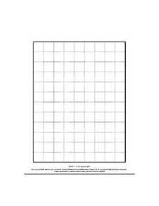 Cm Grid 2 Cm Square Grid Blm 7 Printable 3rd 5th Grade