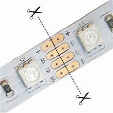 Led Light Strips You Can Cut Led Tutorials Rgb Led Light Quick Connectors