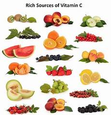 Vitamin C In Vegetables Chart Last Part On Nutrition