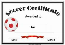 Soccer Certificate Templates For Word Free Editable Soccer Certificates Customize Online