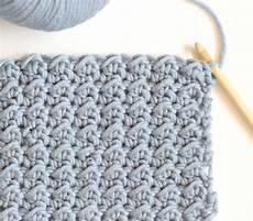 how to crochet the even moss stitch in a stitch
