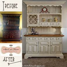 start at home a beautiful hutch makeover