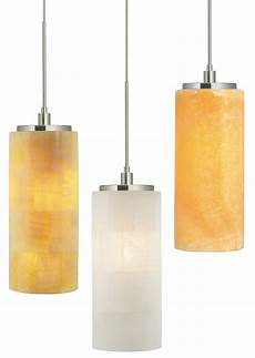 Onyx Mini Pendant Lights Stone Lighting Pd132 Onyx Cylinder Transitional Mini