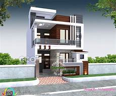 1st Floor Home Design 23 X 55 House Plan With 3 Bedrooms Fachadas In 2019
