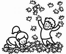 Malvorlagen Herbst Kindergarten Kostenlose Malvorlage Herbst Kinder Machen Eine