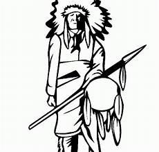 indianer malvorlagen ausmalbilder