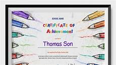 Record Of Achievement Template Certificate Of Achievement Templates 11 Word Pdf Psd