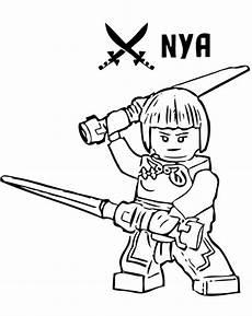 Malvorlagen Ninjago Nya Ninjago 27 Ausmalbilder Kostenlos