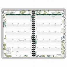 Monthly Planner Book Amazon Com At A Glance Weekly Monthly Appointment Book