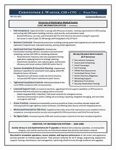 Cio Sample Resume Sample Cio Resume From Executive Resume Writer Amp It Resume