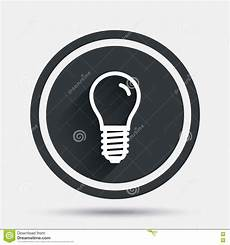Led Light Bulb Symbol Light Bulb Icon Lamp E14 Socket Symbol Stock Vector