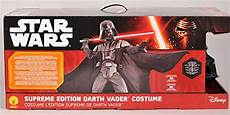 darth vader costume supreme edition rubie s costume s wars collector supreme edition