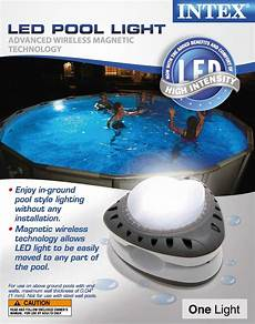 Above Ground Pool Lights Intex Magnetic Led Above Ground Swimming Pool Wall Light