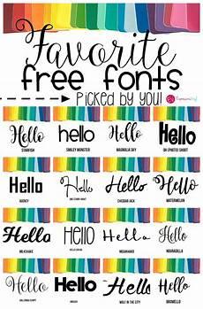Fun Fonts Your Favorite Fonts Expressions Vinyl