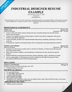 Industrial Design Resume Pin By Resume Companion On Resume Samples Across All