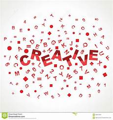 Word For Creative Creative Word With In Alphabets Stock Images Image 29547904