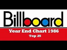 Billboard Year End Charts 1999 Billboard Year End Chart 1986 Top 25 Gimihistorycharts