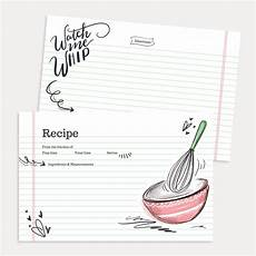 Recipes Cards Lily Amp Val Watch Me Whip Recipe Card Pack